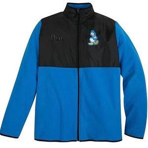 Disney Donald Duck Pieced Fleece Jacket